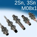 Индуктивные датчики М08, увеличенное расстояние, номенклатура