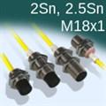 Индуктивные датчики М18, увеличенное расстояние, номенклатура