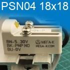 PSN04, прямоугольный - 18x18x36мм